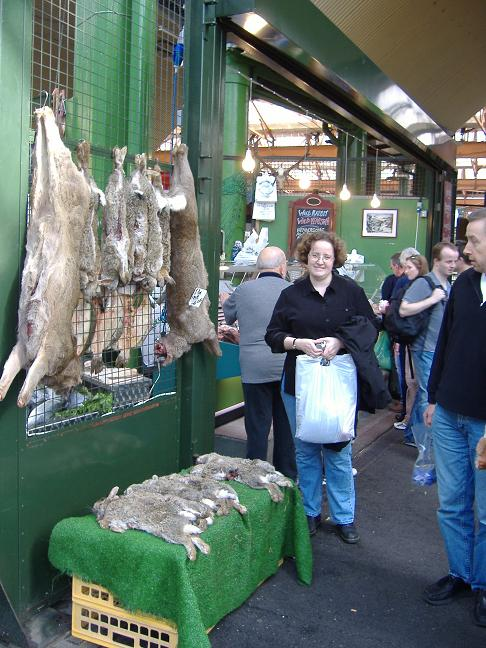 game at Borough market